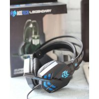 Acetech Headphone Gaming with Microphone LED Legendary