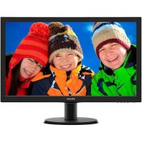 LCD Monitor LED Philips 243V5QHSB - FullHD 23.6 Inch HDMI Monitor