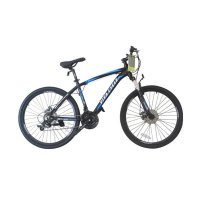 Viva Cycle L3111 EXPOSED 660E Alloy MTB Shimano 21sp Sepeda - Black [26 Inch]