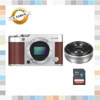 Fujifilm X-A3 / Fuji X-A3 / XA3 Kit Xf 27mm Kamera Mirrorles Brown