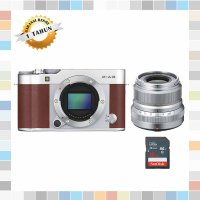 Fujifilm X-A3 / Fuji X-A3 / XA3 Kit Xf 23mm F2 Kamera Mirrorles Brown
