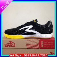 #Sepatu Futsal Sepatu Futsal Specs Metasala Showtime Black Sun Yellow 400496 Original