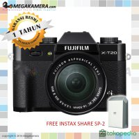 Fujifilm X-T20 kit XC 16-50mm - Black