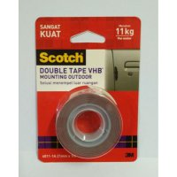 3M Scotch Double Tape VHB Mounting Outdoor 4011-1A 21 mm x 1 m