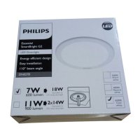 Philips SmartBright G2 LED6/CW Downlight DN027B 7W-6500K-D125