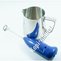 Milk Jug Complete With Electric Hand Frother / Latte Ar