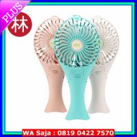 M.U.R.A.H Vivan Robot Power Bank RT-BF04 2000mAh Mermaid Portable Fan Kipas Biru