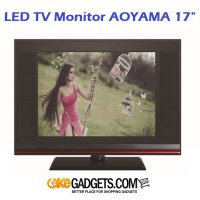 LED TV Monitor AOYAMA 17 Inch Slim Design and Best Price!