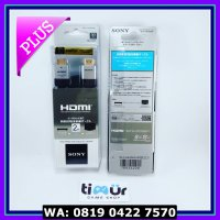 (Diskon) KABEL HDMI SONY - CABLE HDMI TO HDMI - GOLD PLATE