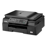 Printer brother MFC-J200 print,scan,copy,fax ADF