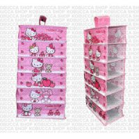 HANGING SHOES ORGANISER RAK GANTUNG HELLO KITTY ORGANIZER KOLEKSI HK SJ0019