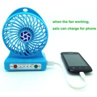 Multifunction USB Mini Fan + Power Bank 6000mAh