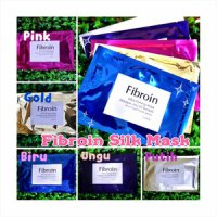 FIBROIN SILK MASK / whitening Facial mask FIBROIN / masker sutra