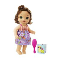 Baby Alive B7224 Ready for School Brunette Doll Boneka Bayi