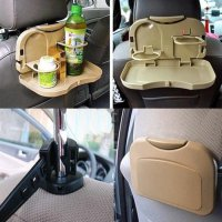Car Multifunction Foldable Seat Back Meal Table / Meja Lipat Mobil