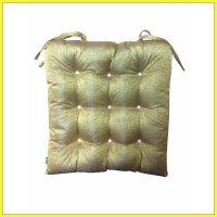 The Luxe Chairpad Bantal Kursi - Gold Metalic