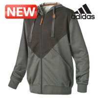 Adidas Performance Hooded Jacket / special discounts for women hooded zip-up hooded knit track top / GG-L45920