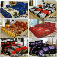 LADY ROSE Sprei 180 Bantal 4