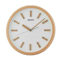 SEIKO QXA681Z Quiet Sweep Wall Clock Jam Dinding - Cream [35 cm]