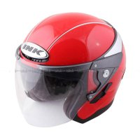 INK Metalico Solid Fire RD Helm Half Face