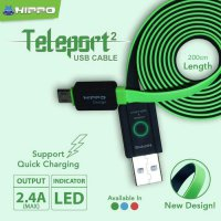 HIPPO KABEL DATA CHARGER MICRO 200CM ANDORID