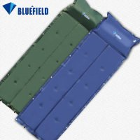 [globalbuy] BlueField Outdoor Folding Mat Automatic Inflatable Camping Mat Mattress Self-I/3301819