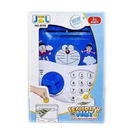 Mainan Anak - Security Hut Brankas Atm Safe Deposit Box Doraemon