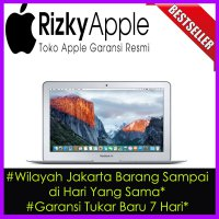 Garansi 1 Tahun MacBook Air 11' inch 2015 MJVP2 (1.6Ghz Haswell Core i5/RAM 4GB/SSD 256GB)