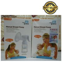 [Dijamin] Little Giant Manual Breast Pump (Pompa ASI Manual Little Giant)-Emily