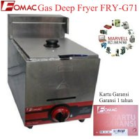 (Limited) Mesin penggorengan gas deep fryer kapasitas 5.5 liter