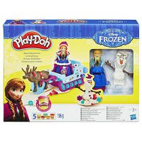[poledit] Play Doh Disney Frozen Sled Adventure Playset by Hasbro/13523772