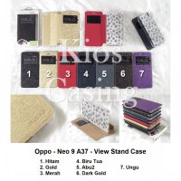 Oppo Neo 9 A37 - Flip Cover View Stand (Case Casing Sarung)