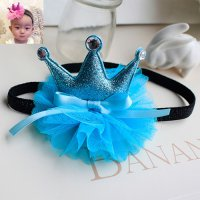Bando Bayi Crown & Flower Blue BA66412