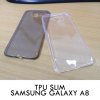 TPU Slim Case 0.3mm Samsung Galaxy A8
