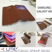 Ume Classic View Leather Case Samsung Galaxy A8
