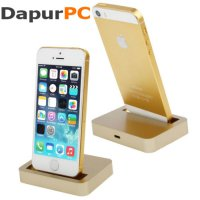 Apple Charging Dock 8 Pin for iPhone 5/5s/5c/iPod touch 5 - Golden