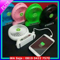 (High Quality) Power Bank Kipas / Kipas Angin Mini Portable / Mini Fan USB Portable