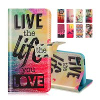 [globalbuy] Wallet Flip Case With Stand Holder For Apple iPod Touch 5 touch5 Touch 6 touch/3682046
