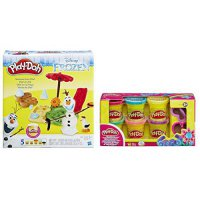 [poledit] Play-Doh Play Doh Disney Frozen Set Olaf Kids Princess Modeling Clay Plus Glitte/13519702