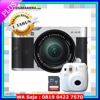 #Kamera Mirrorless Fujifilm / Fuji X-A3 / XA3 Kit 16-50mm Kamera Mirrorless - Silver