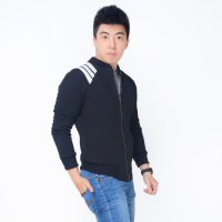 JAKET BRYAN Okechuku Jacket Jumper Pocket Training Fashion Pria - Hitam