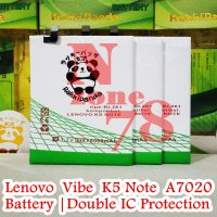 Baterai Lenovo Vibe K5 Note A7020 BL261 Double IC Protection
