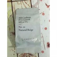 [100% Original Laneige] BB Cushion Pore Control SPF 50+ PA+++ (Refill Only) / No. 21 Natural Beige