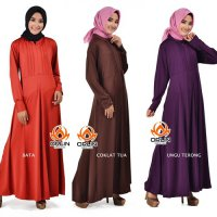 ORLIN GL-001 XXL PART 2 GAMIS POLOS JERSEY ALL SIZE BUSUI UMBRELLA ORIGINAL BY ORLIN