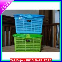 LIMITED Kandang Kucing Keranjang Rio Pet Carrier Cargo Small Kecil Maspion