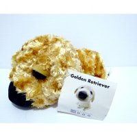 Boneka Golden Retriever Dog Original The DOG Series Plush Doll