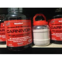 CARNIVOR 2 LBS CARNIVOR ECER WHEY BEEF PROTEIN ISOLATE MURAH