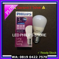 (Dijamin) Lampu Bohlam LED Philips 3 Watt Putih/Cool Daylight (3W 3 W