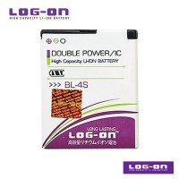 LOG-ON Battery For Nokia BL-4S - Double Power & IC Battery - Garansi 6 Bulan