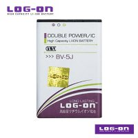 LOG-ON Battery For Nokia BV-5J - Double Power & IC Battery - Garansi 6 Bulan